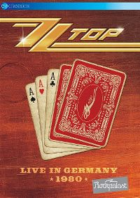 Cover ZZ Top - Live In Germany 1980 [DVD]